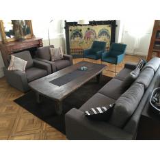 Ensemble canapé et 2 fauteuils