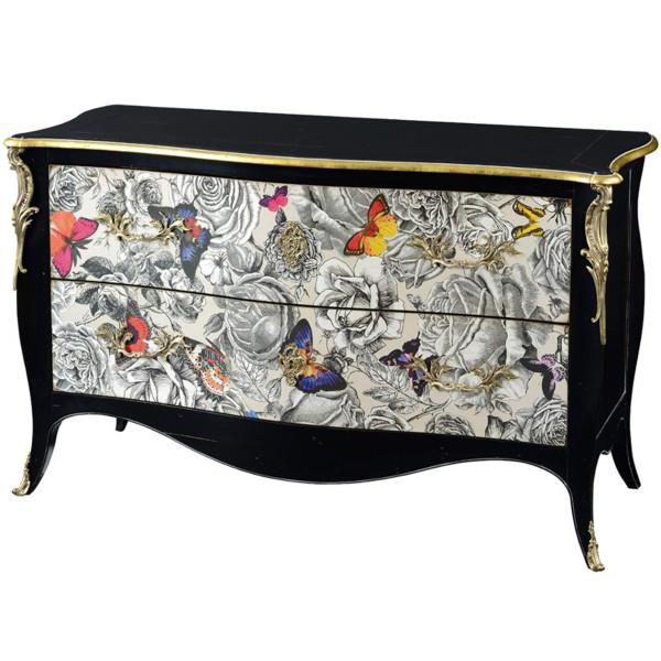 commode grange miss butterfly so chic so design. Black Bedroom Furniture Sets. Home Design Ideas