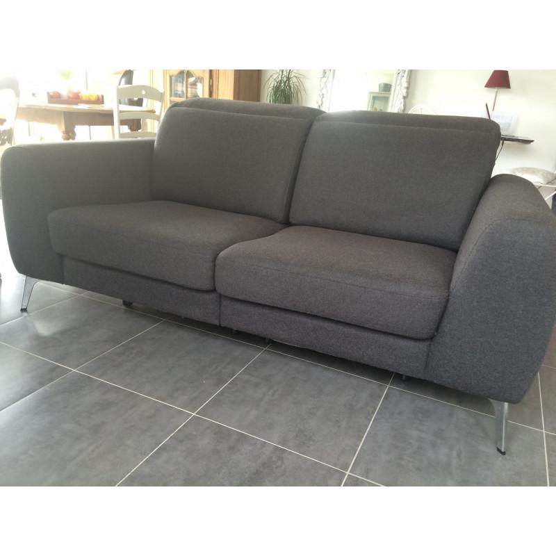 Madison dark gray sofa BoConcept