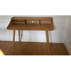 Bureau vintage en massif Made