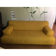 Canapé jaune or Oscar de Leolux