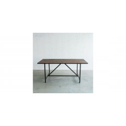 Industrial style dining table Flamant