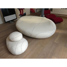 Caillou sofa with multiple cushions