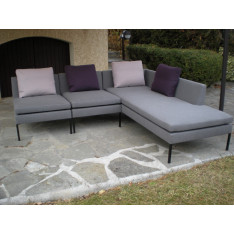 Stricto sensus grey sofa by Cinna