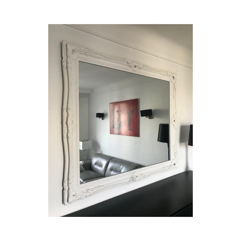 Miroir Gallery SIA 140*120 Blanc