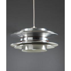Chrome metal pendant lighting