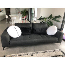 Symbol sofa and pouffe Roche Bobois