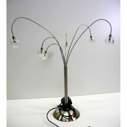 Lampe à poser 6 bras par Jan des Bouvrie