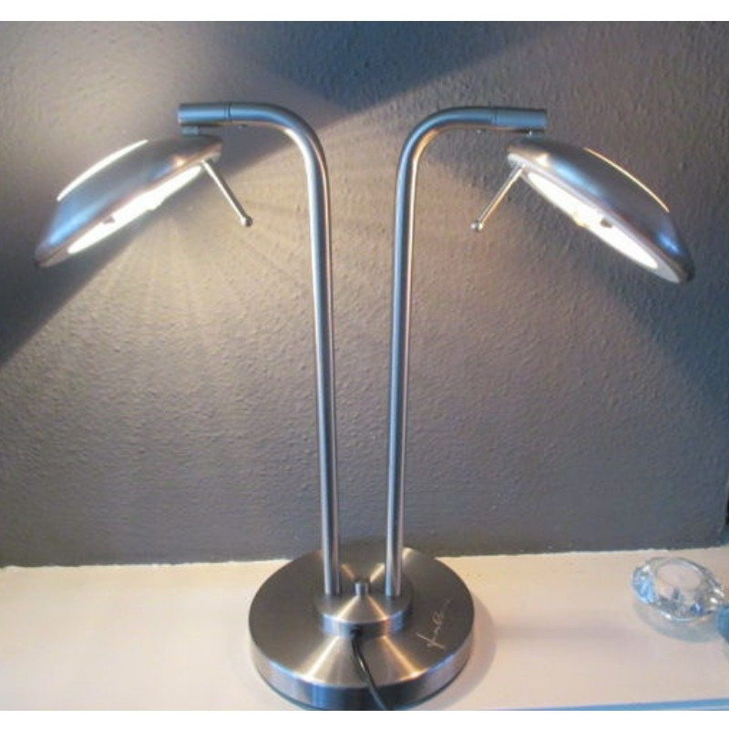 Sidetable Jan Des Bouvrie.Preloved 2 Arms Desk Lamp By Jan Des Bouvrie For Boxford