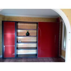 Bibliothèque rouge Roche Bobois