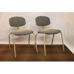 Paire de chaises vintage Strafor 1970