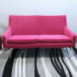 2 -seater sofa model of the 60s - Completely redone