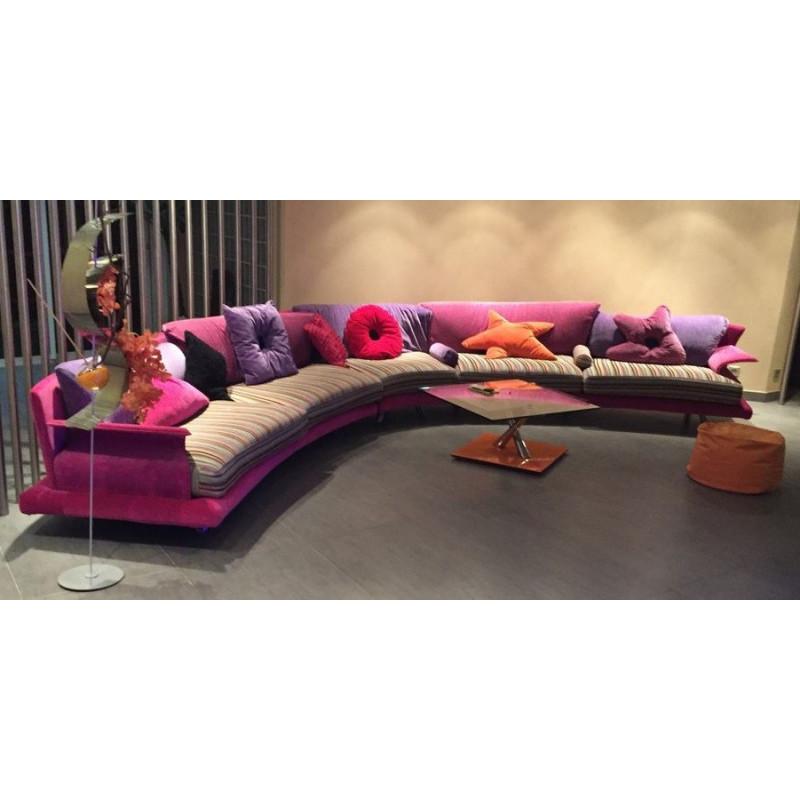 Canapé de luxe Giorgio Saporiti Il loft
