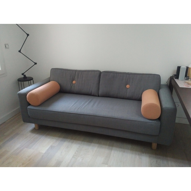 3-seater gray sofa by Fest Amsterdam