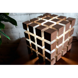 5ème dimension – Lampe cube design original