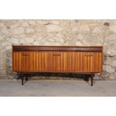 Scandinavian style teak and zebrano sideboard Elliots of Newbury