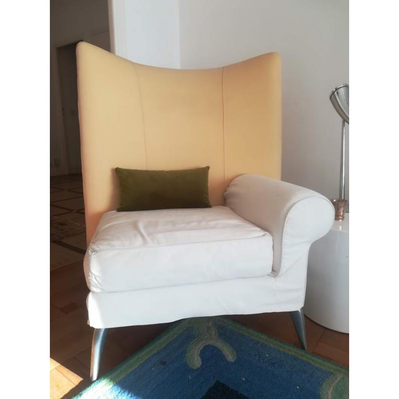 Ensemble de 2 fauteuils & pouf Royalton par Philippe Starck pour Driade