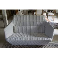 Facett 2-seater sofa by Roman and Erwan Bouroullec for Ligne Roset