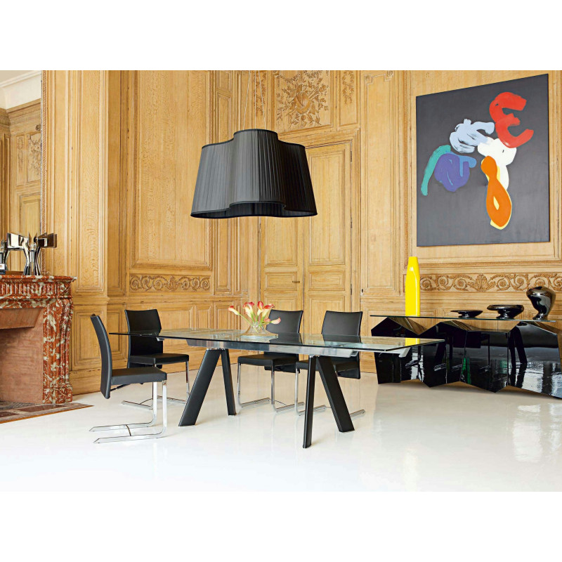 Table chronos roche bobois so chic so design for Meuble salle a manger roche bobois