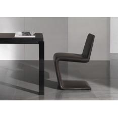Phillips Black Minnoti Chair by Rodolfo Dordoni