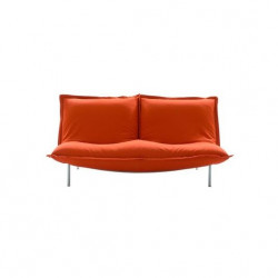 Canapé rouge 3 places Pascal Mourgue- Cinna
