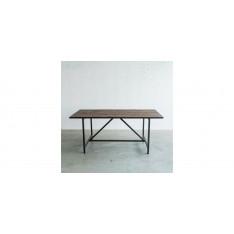 Table de salle à manger style industriel Flamant