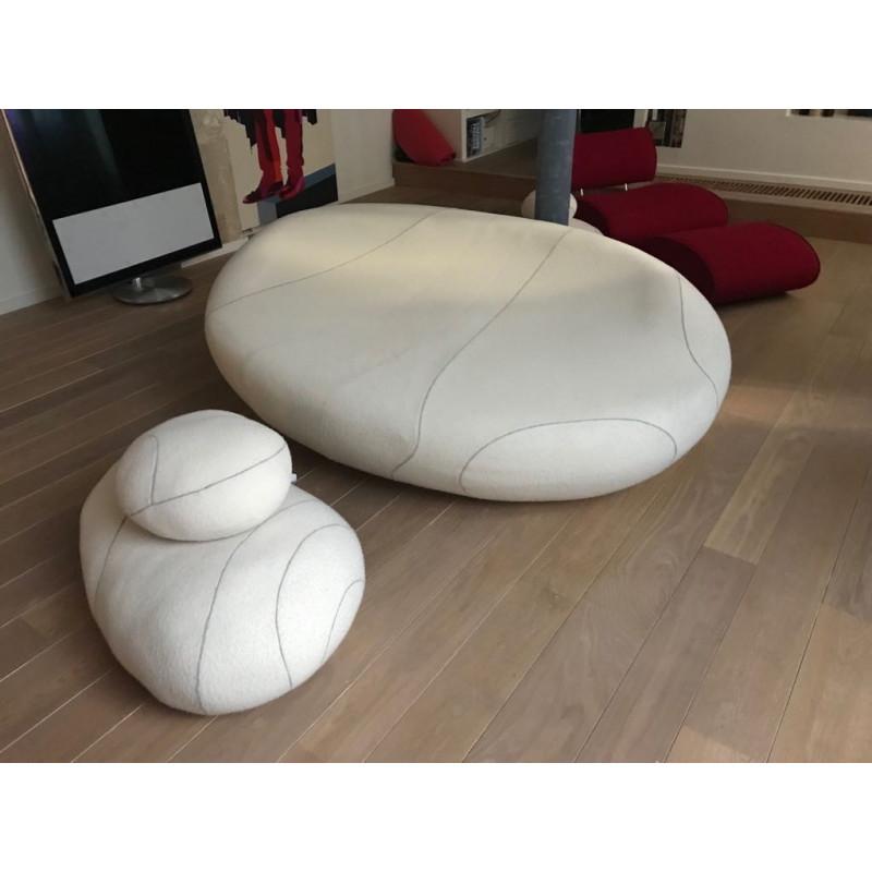 Caillou sofa with multiple cushions