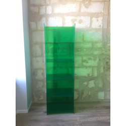Glass Shelf Bookcase - Glas Italia