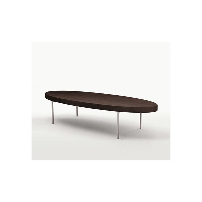 B & B Italia coffee table in gray oak by Antonio Citterio
