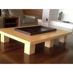 Table basse Camphere par Christian Liaigre