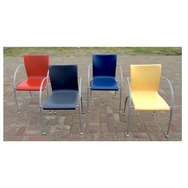 Set of 4 Modde chairs by Martin Ballendat for Wiesner Hager
