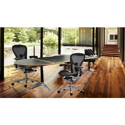 Burdick group desk table by Herman Miller