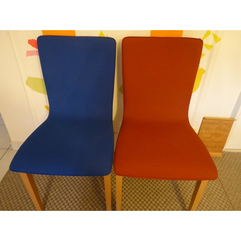 Lot of 4 Libra chairs by Ligne Roset