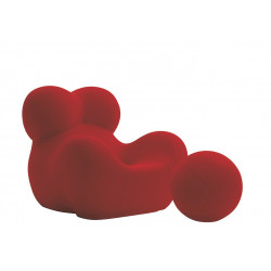 Mama armchair and pouffe , design by Gaetano Pesce - B&B Italia