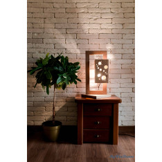 Moonlight concept rectangular lamp