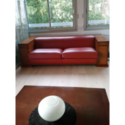 Key Largo red sofa by Hugues Chevalier