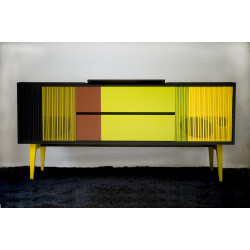Vintage HiFi long sideboard