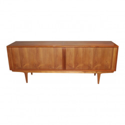 Scandinavian style teak sideboard by Bernhard Pedersen pour Pedersen & Son, 1966