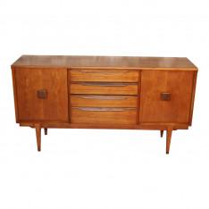 Scandinavian style teak sideboard by Lebus, 1960s