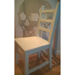 Lot de 3 chaises blanches Standard Unique de Maarten Baas