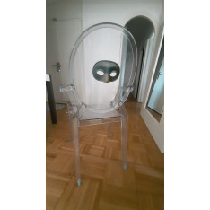 Fauteuil Louis Ghost transparent philippe starck
