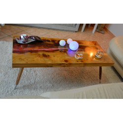 "Table Basse ""Automnale"" Grégory Clairon"