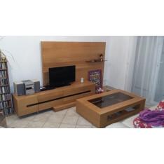 Meuble TV avec table basse TERRANOVA KOLBO