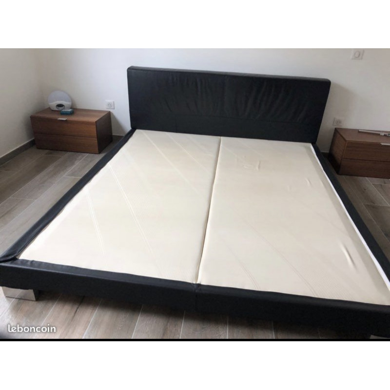 ANNA black model bed