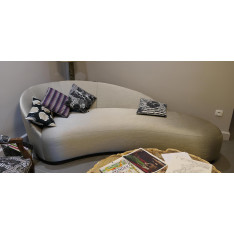 DESIGN SOFA and POUF MONTBEL ITALY