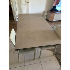 Table de repas rectangulaire ceramique
