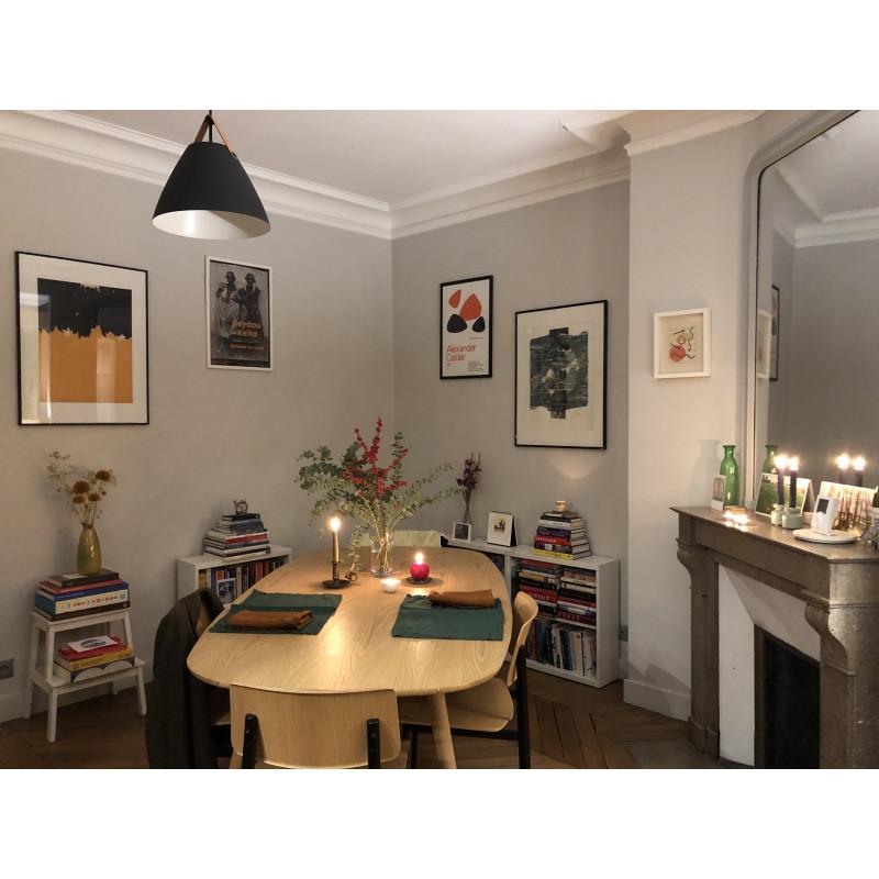 Table à manger ENOstudio en bois plaqué chêne 190x100