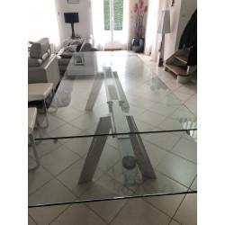 TABLE DE REPAS CHRONOS DE ROCHE BOBOIS