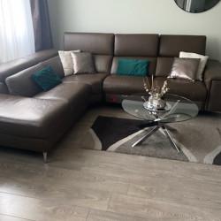 Canapé d'angle 7 places Max Divani avec relax