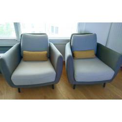 Paire de fauteuils Ella Habitat
